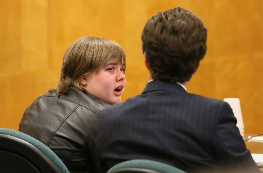Morgan Geyser Crying In Court