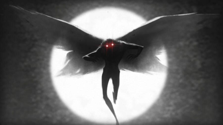 Urban Myth Of Mothman In The Moonlight