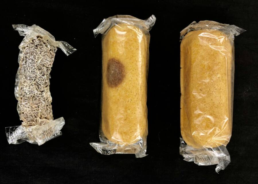Mummified Twinkie With Marred Twinkie And Normal Twinkie