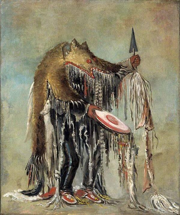 Illustration Of Skinwalker Urban Myth