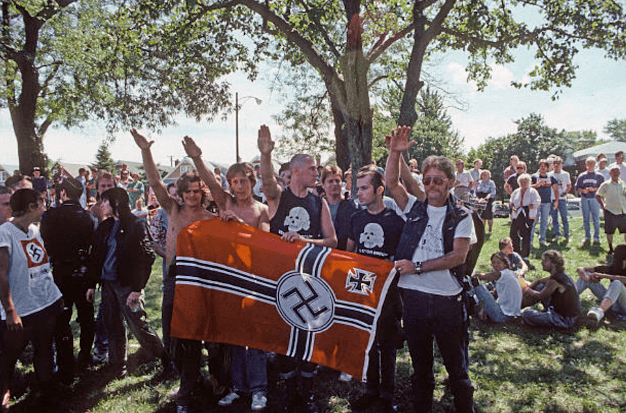 Nazi Demonstration In Chicago