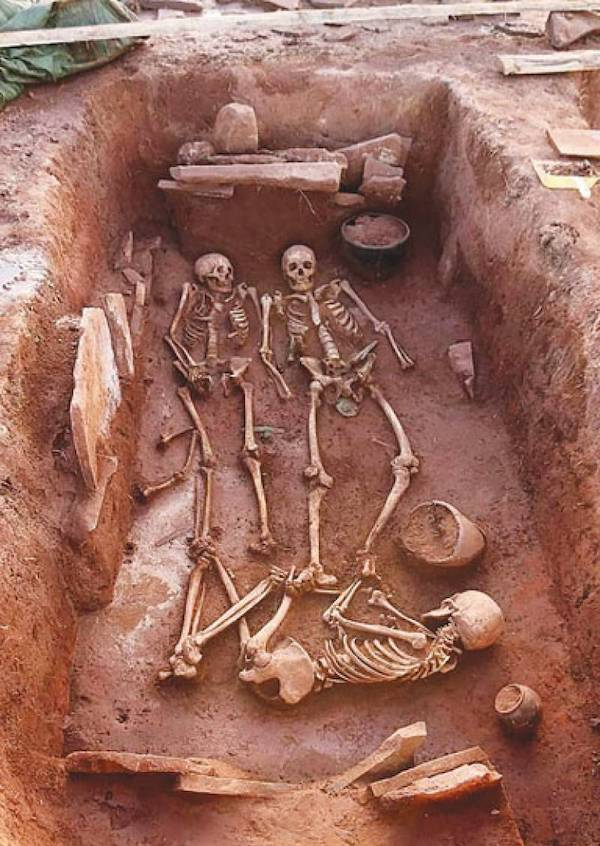 Scythian Warrior Couple Grave