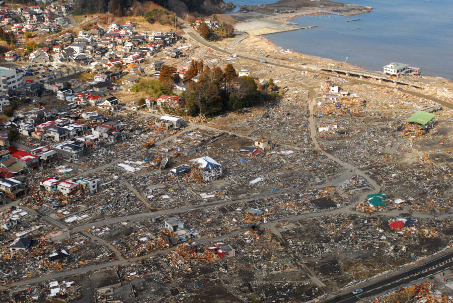 Sukuiso After Tsunami Impact