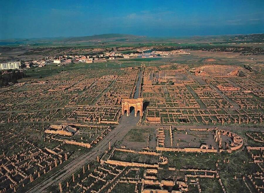 Timgad City Grids