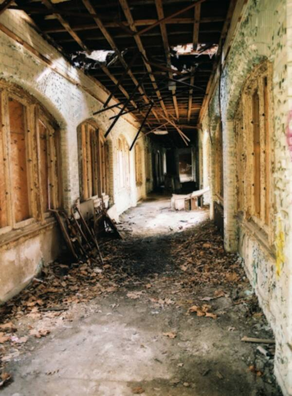 Abandoned Byberry Asylum