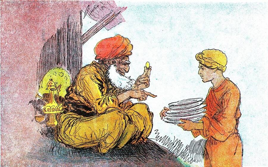 Aladdin Illustration