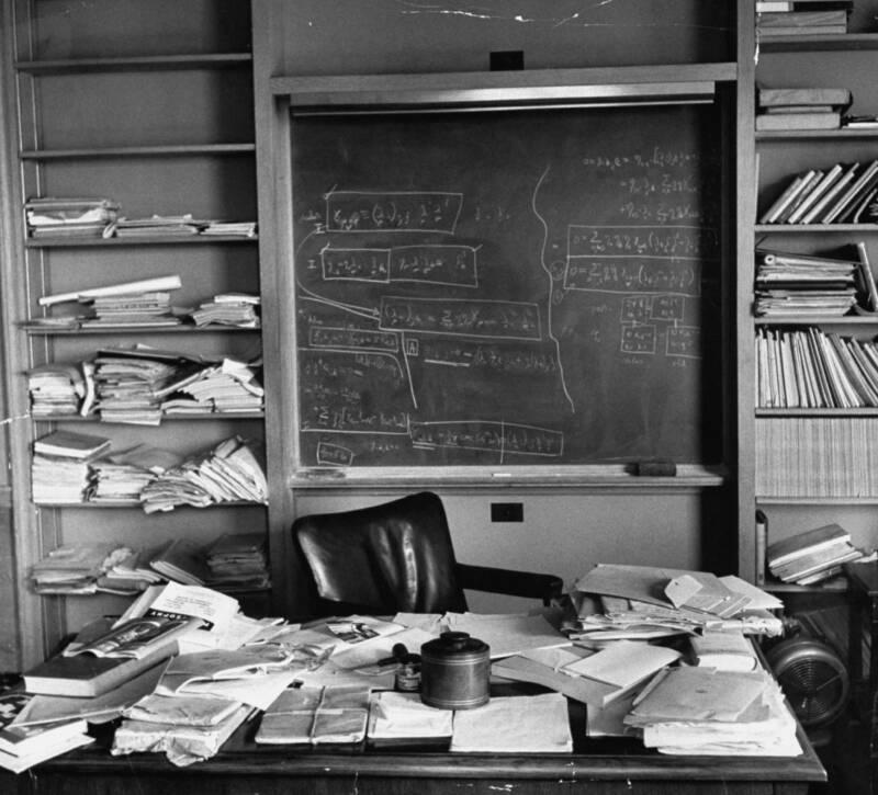 Albert Einsteins Office