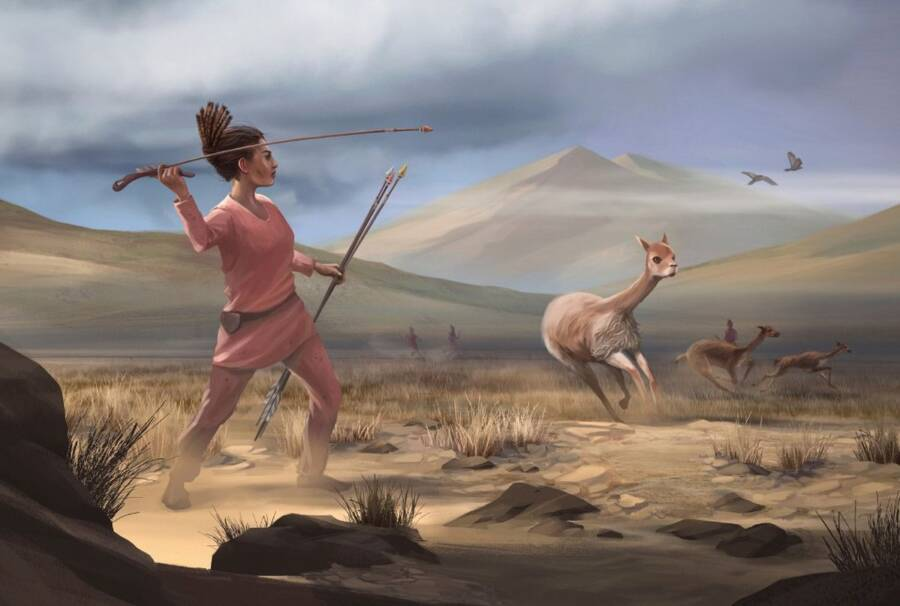 Andes Hunter Woman