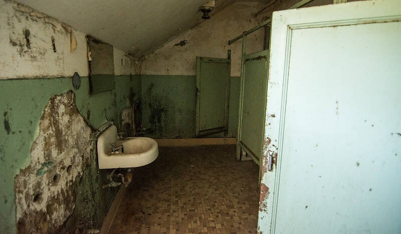 Asylum Bathroom
