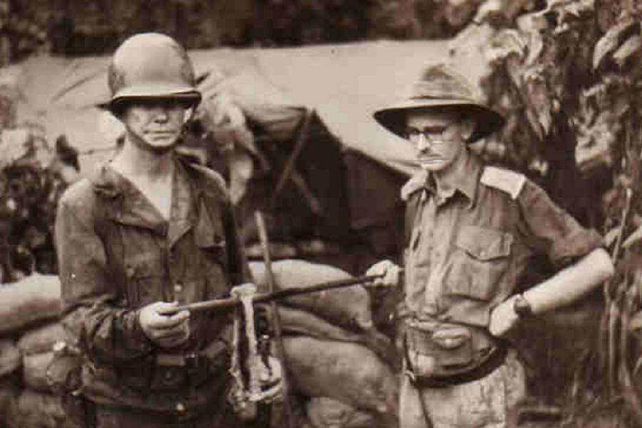 Australian Soldiers With Remains