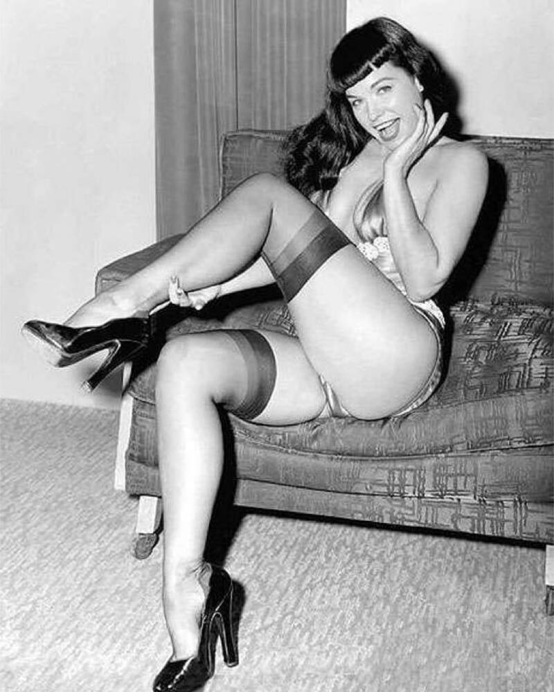 Pinup Model Bettie Page