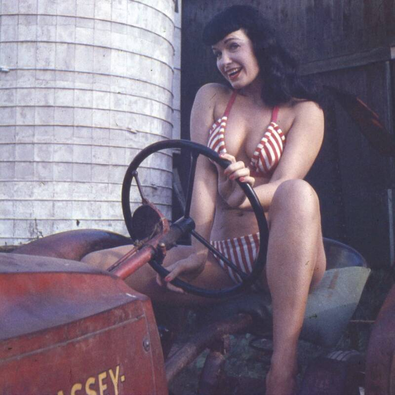 Bettie Page Pinup Photo