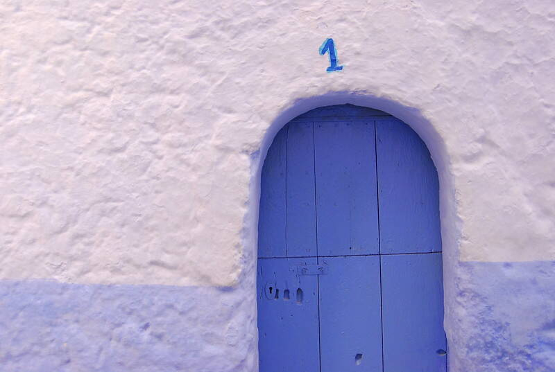 Chefchaouen Blue Door