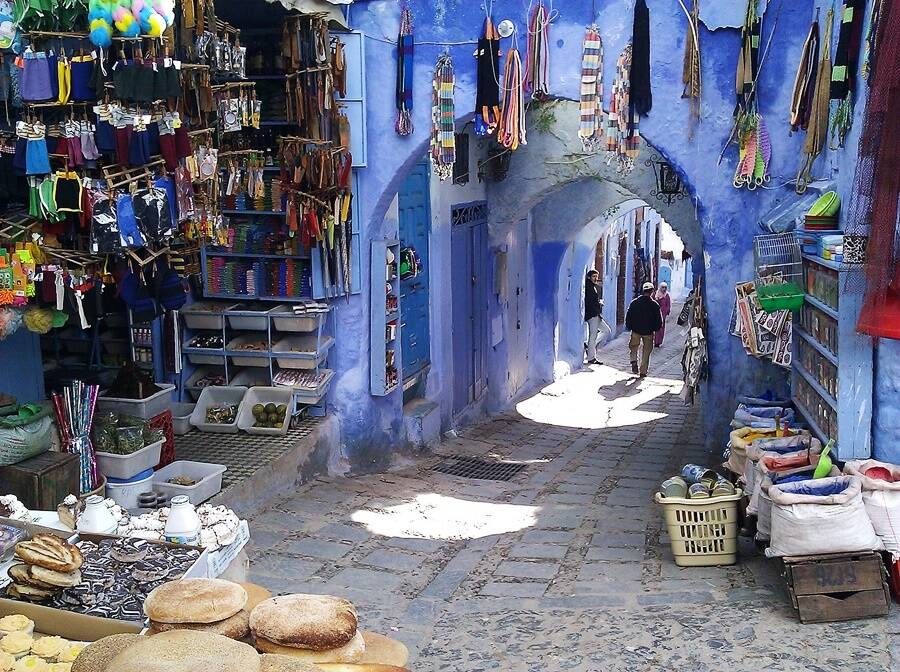 Morocco's 'Blue City' Streets