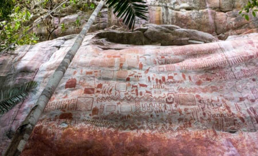 Colombia Cave Rock Art