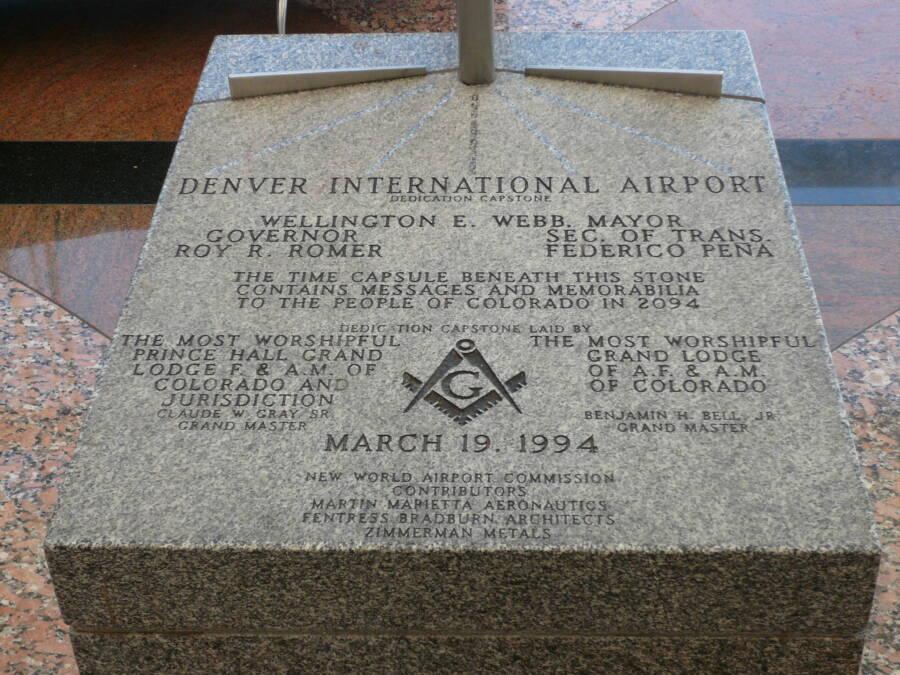 Denver Airport Conspiracy Capstone