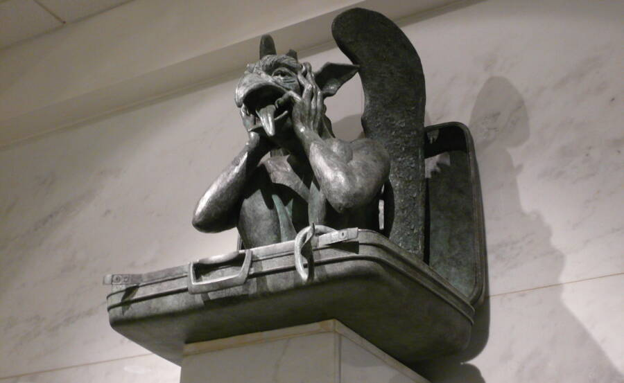 Denver Airport Gargoyle