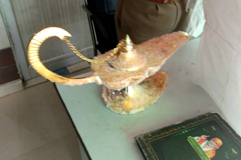 Fake Aladdins Lamp