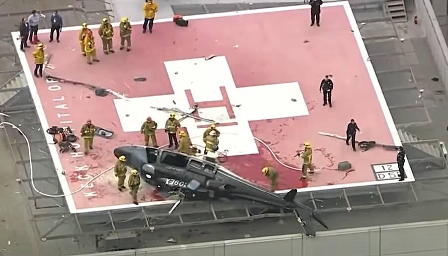 Hospital Helicopter Crash