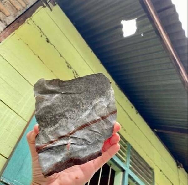 Indonesian Meteorite