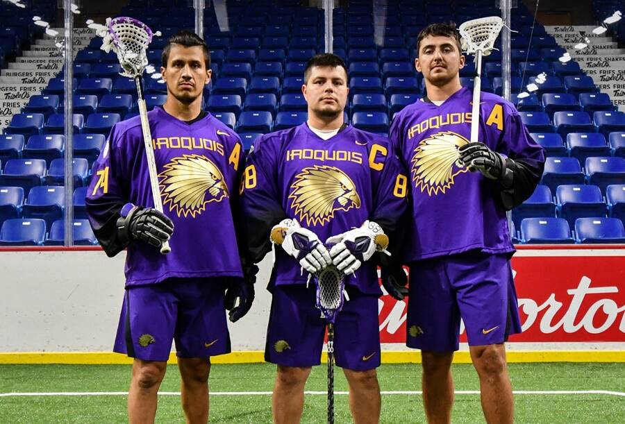 Iroquois Nationals Lacrosse Players