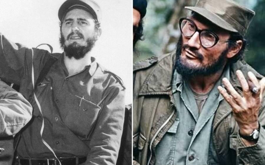 Jack Palance As Fidel Castro
