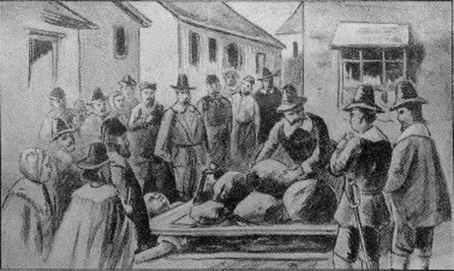 Execution Of Giles Corey