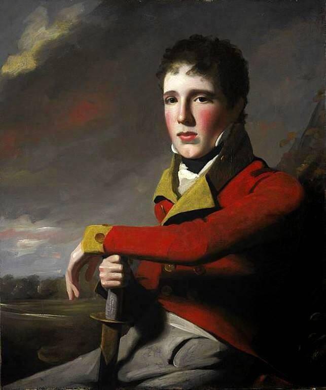 Military Portrait Of MacGregor