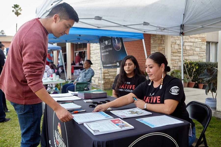 Native American Voters
