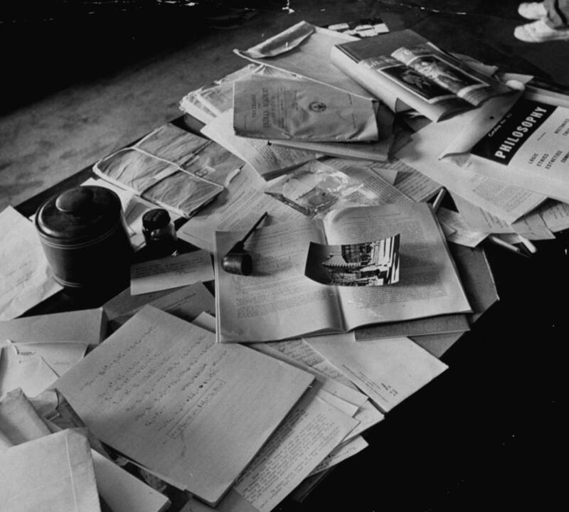Office After Albert Einsteins Death