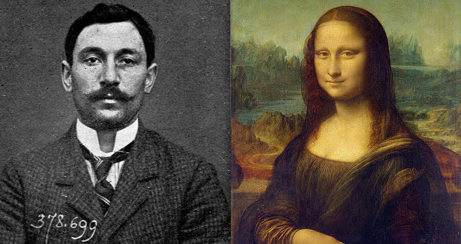 History's 7 Craziest Heists, From The Delivery Guy Who Robbed A Bank To The Theft Of The Mona Lisa