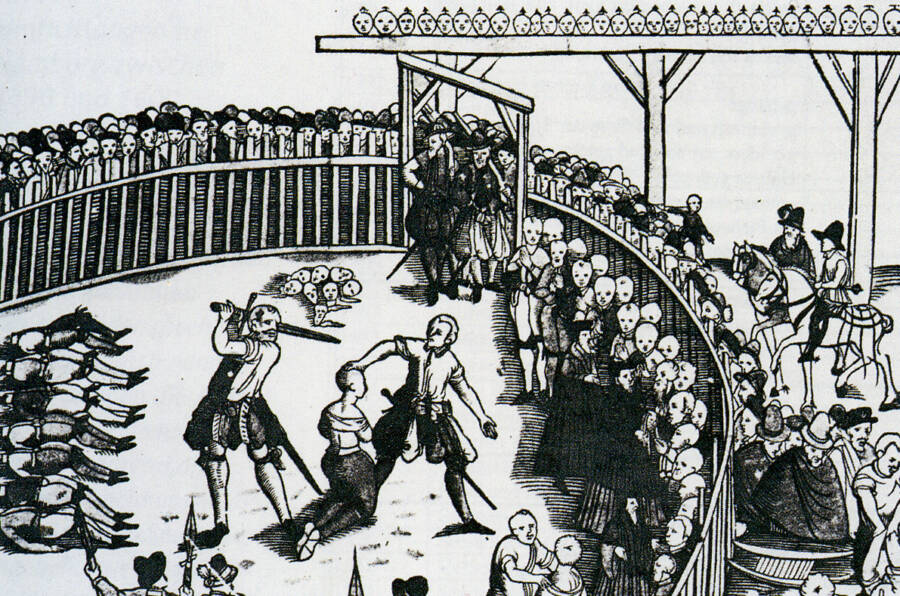 Medieval Execution Of Pirates
