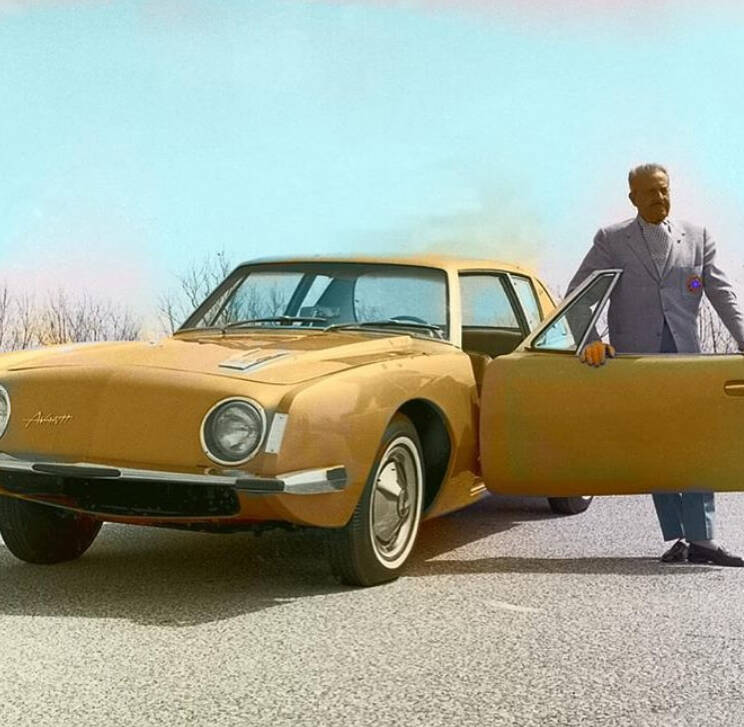 Raymond Loewy Yellow Car