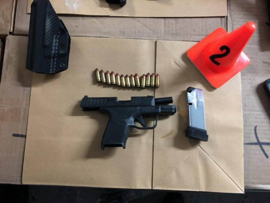 Seized Pistol From Bronx Fight Club
