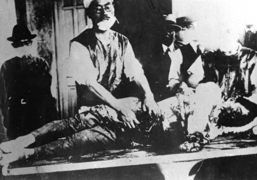 Unit 731 Medical Table