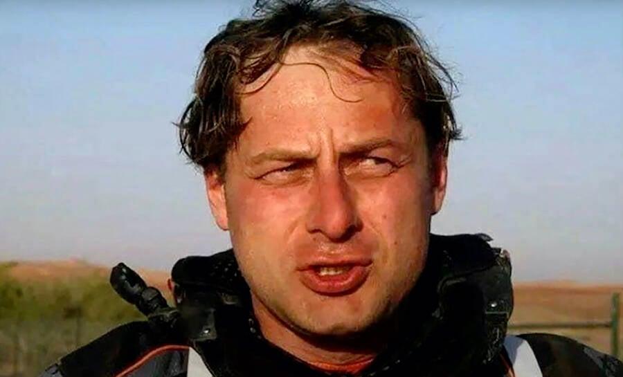 Vladimir Marugov After Racing