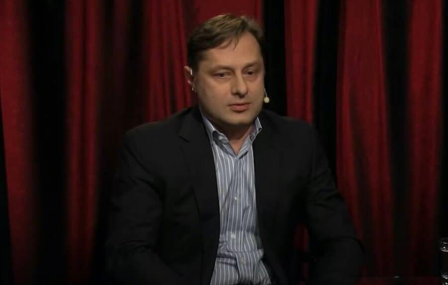 Vladimir Marugov Being Interviewed