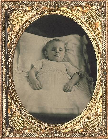 Post Mortem Photos In 1850