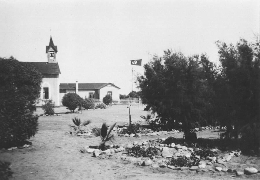 Church With Nazi Flag In Namibia