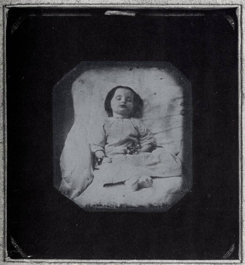Post Mortem Photography In 1850