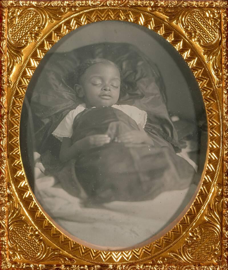 Victorian Death Photography Of Children