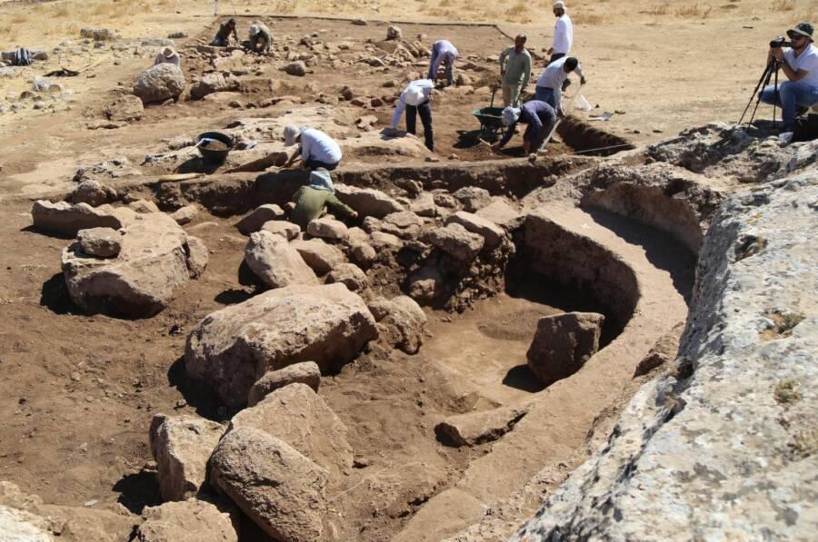 Excavations At Karahan Tepe Dig Site