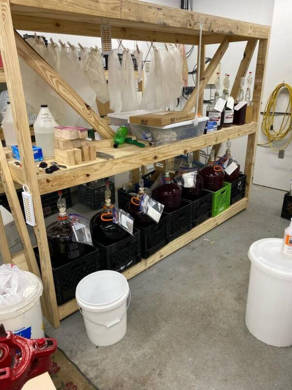 Fermenting Shelf