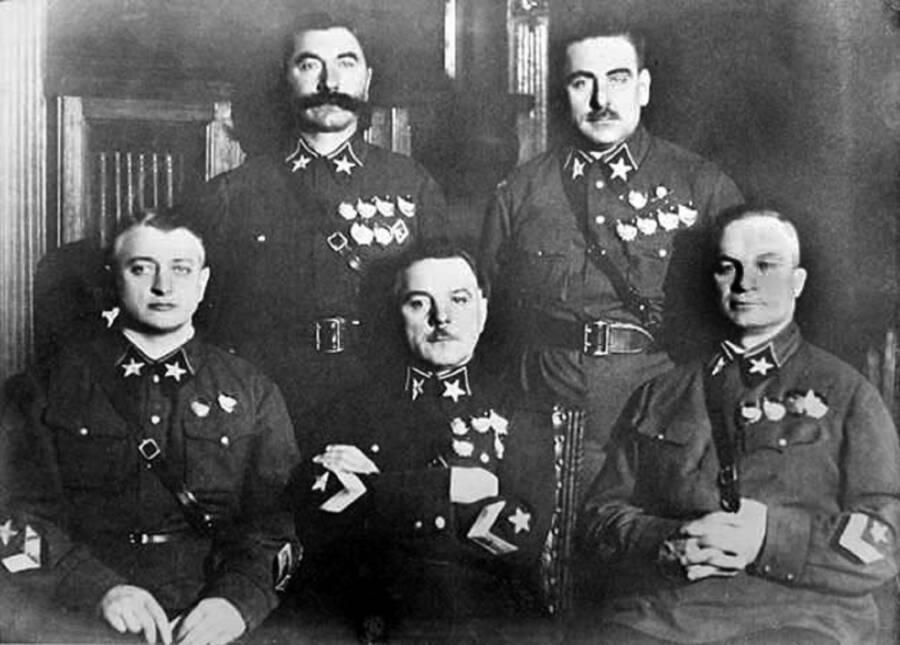 Five Ussr Marshals