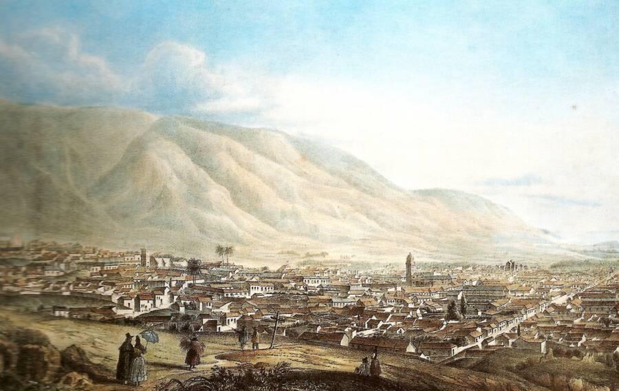 Caracas In 1839