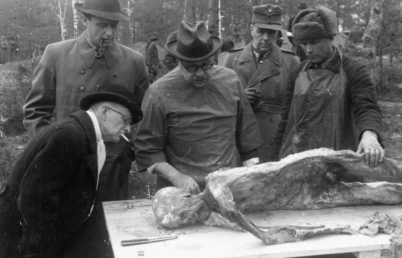 Katyn Massacre 1943 Exhumation Exam