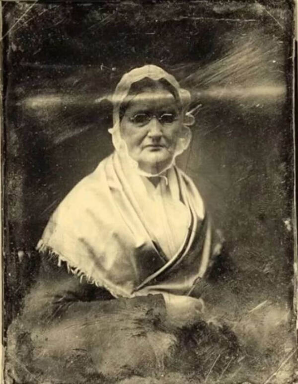 Creepy Picture Of Madame Louise Monnier De Marconnay