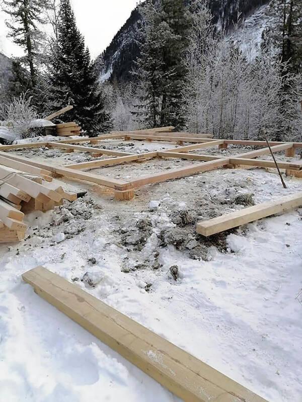 New Hut Construction