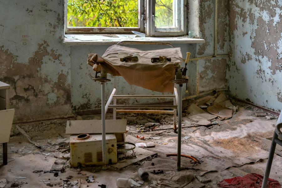Pripyat Abandoned Hospital