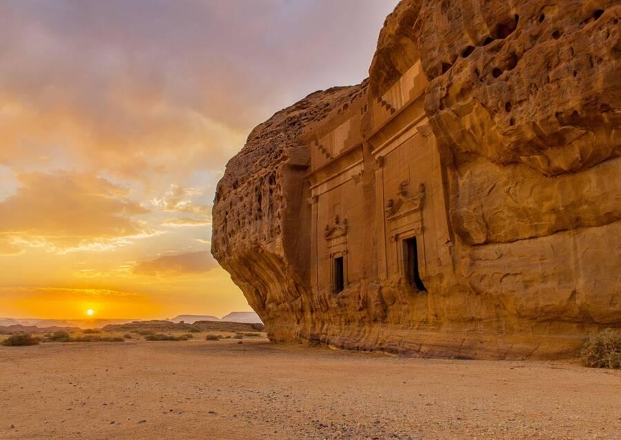 Rock Structure In Hegra